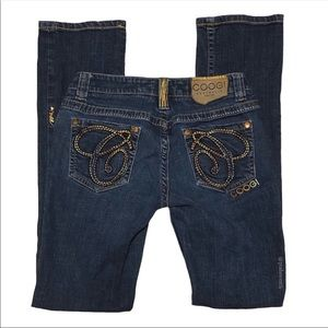 Coogi Vintage Slim Baby-Bootcut Jeans